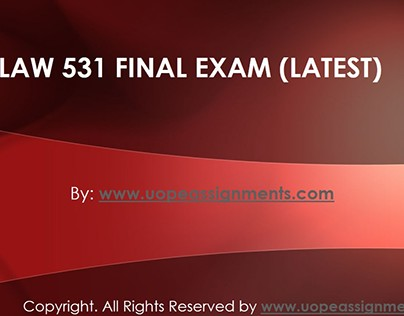 law 531 final exam three sets Potential tort risks and violations law 531 support@activitymodecom law 531 entire course law-531 final exam three sets law -531-week-1.