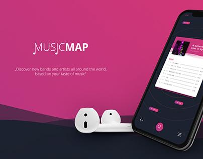 MusicMap App