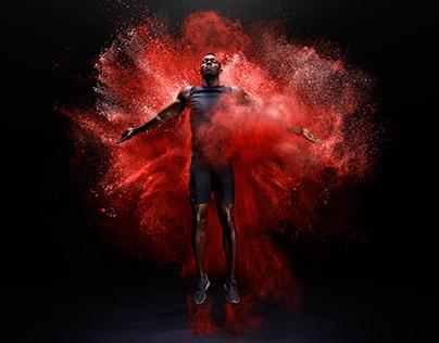 Usain Bolt Explosion