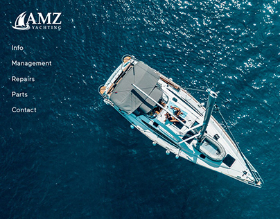 AMZ Yachting Website