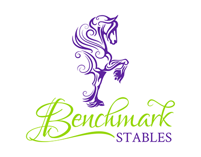Horse Logo for Equine Stables