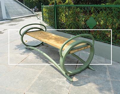 Garden Bench Design : Vadodara, Gujarat