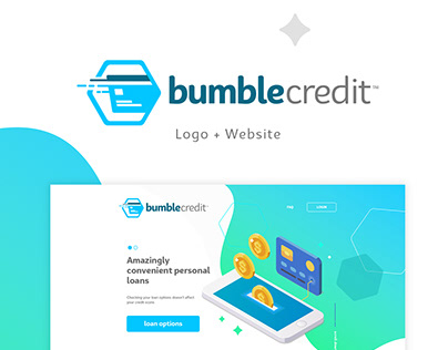 Bumble Credit Logo and Website