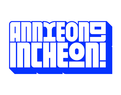INCHEON! Typeface