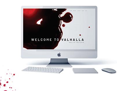 VALHALLA // WEB DESIGN