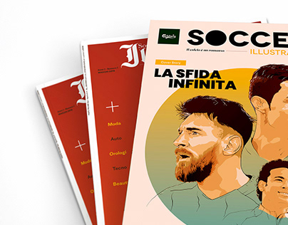 Soccer Illustrated | Cover Illustration