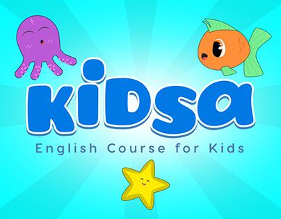 KIDSA ENGLISH - English app for kids