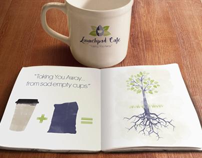 LaunchPad Café Guerilla Marketing Campaign