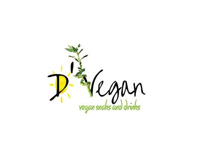 Brand Identity | D'VEGAN UK