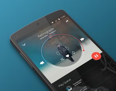 Music App | Material Design