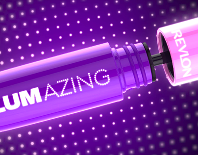 Revlon Volumazing Mascara - Cinema 4D and RedShift