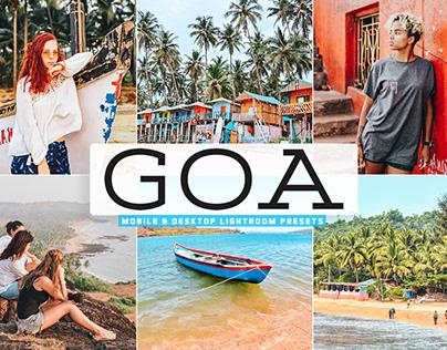 Free Goa Mobile & Desktop Lightroom Presets