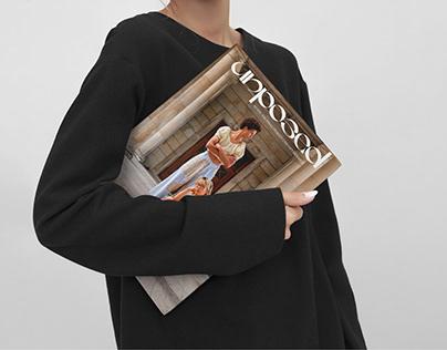 unposed fashion magazine