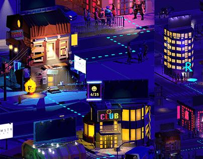 Realtime 3D City