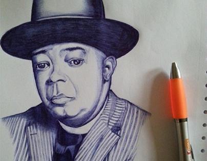 Drawing portrait ballpoint   B2C