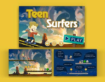 Teen Surfers