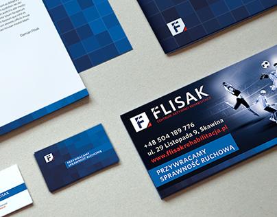 Flisak - brand identity