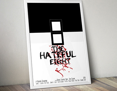 Poster The Hateful Eight - Redesign