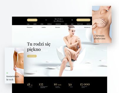 Klinika La Perla - Website & E-commerce
