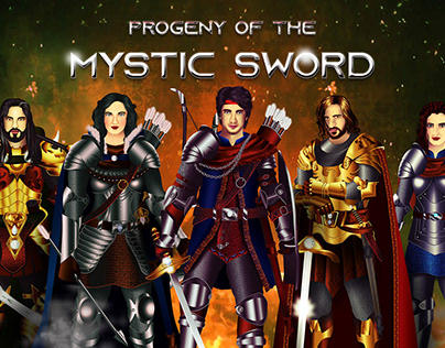 Character Designing - Progeny Of The Mystic Sword