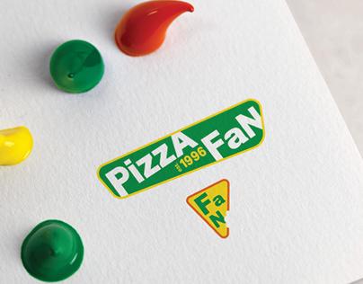 Pizza Fan Logo Redesign 2019