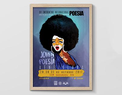 Identidad visual: Encuentro Internacional POESIA (2017)