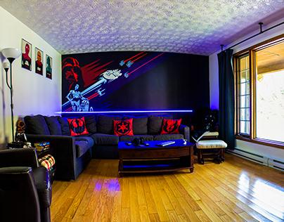 Mural - Salon - Star Wars