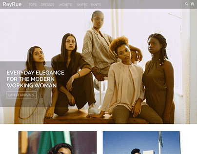 RayRue- a fashion ecommerce project