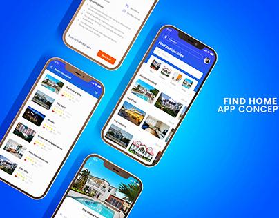 Find Home - Mobile App