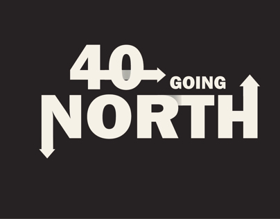 Logo 40 going north