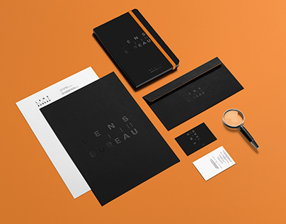LENS BUREAU: Photo Studio Branding Project