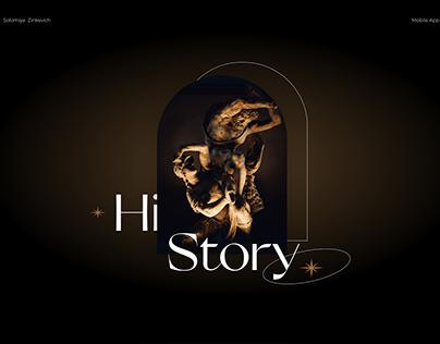 Mobile app Hi,Story