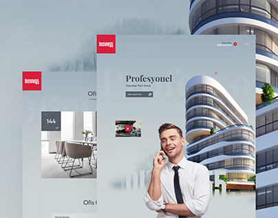Corporate Real Estate Web Design