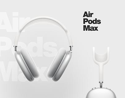 Air Pods Max Design Concept