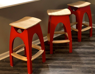 Kitchen Stool Design