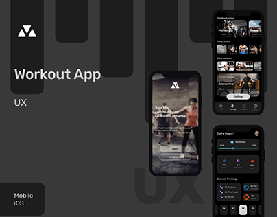 Workout App - UX mobile