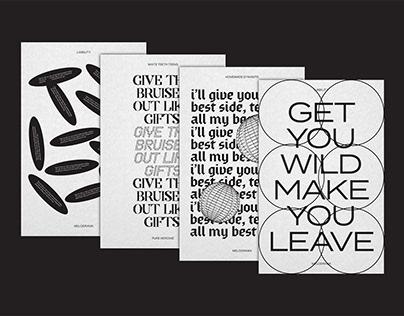 Song Lyrics Typography