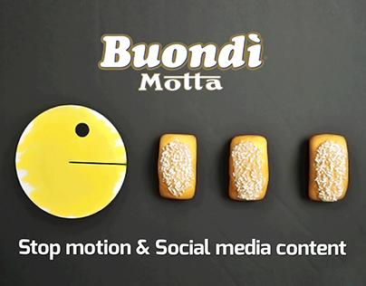 Video stop motion - social media content - Buondì Motta