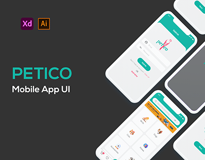 Petico Mobile App Ui