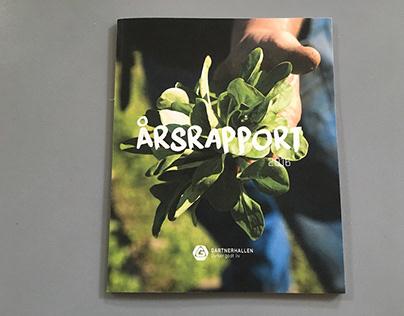 Gartnerhallen Annual Report