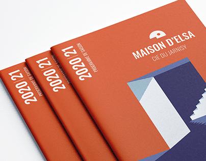 Compagnie Jarnisy & Maison d'Elsa - Corporate Identity