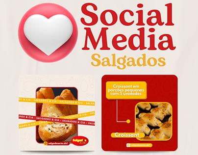 Social Media - Salgados