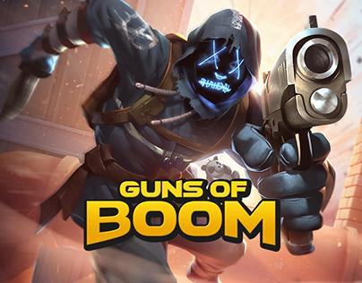 Promo art - Guns of Boom