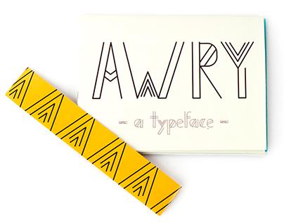 Awry - A Typeface