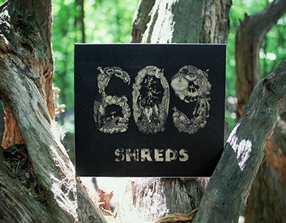 "609's ""SHREDS"" EP CD Digipack"