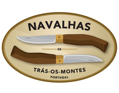 Navalhas Logo Redesign