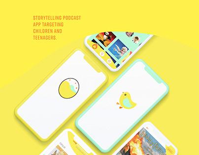 Adobe XD Daily Creative Challenge Podcast App