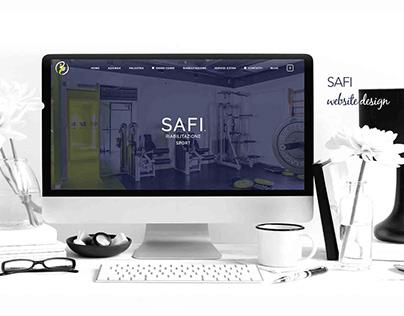 Safi Website Design