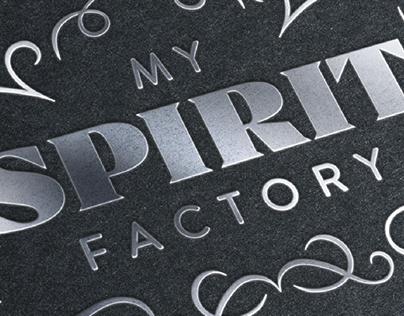 CRÉATION IDENTITÉ VISUELLE - My Spirit Factory