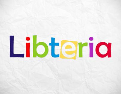 Libteria logo - information portal